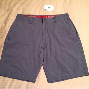 Under Armour Men's Heat Gear Shorts Gray Size 42